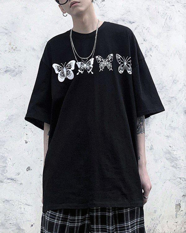 《2色》バタフライ13Tシャツの画像2
